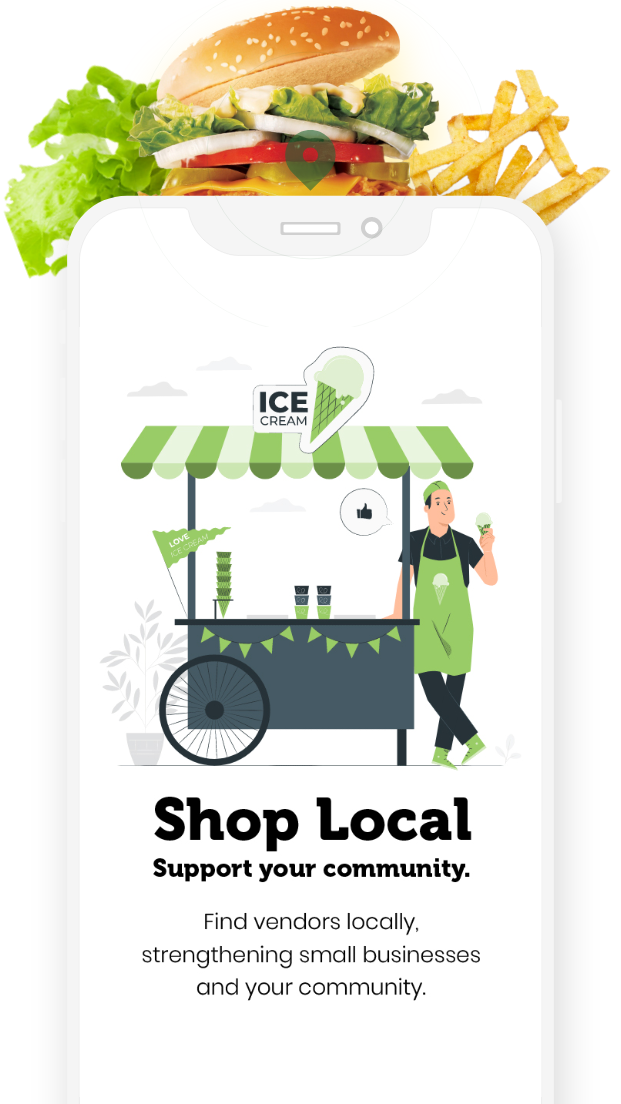 Buy Local App - Find restaurants, products and services