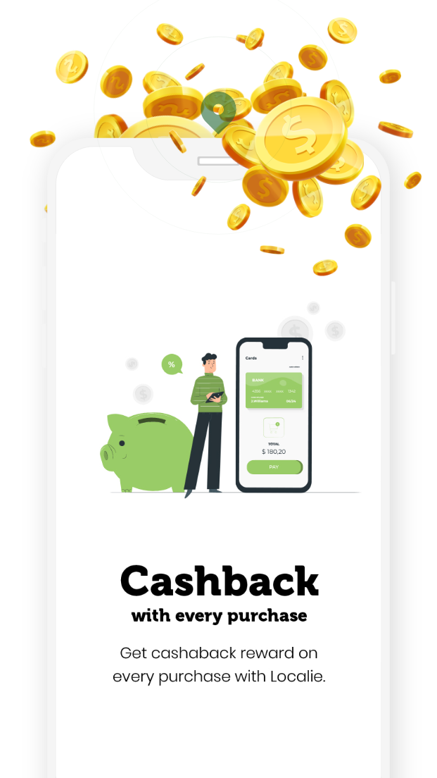 App cashback on all orders