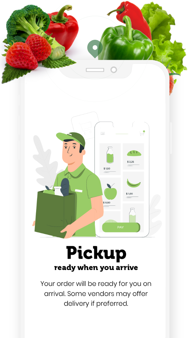 Order Local Pickup or Curbside Pickup